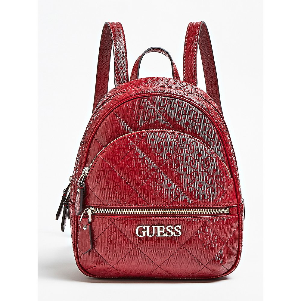 Guess Wilona Logo Quilted Look Backpack